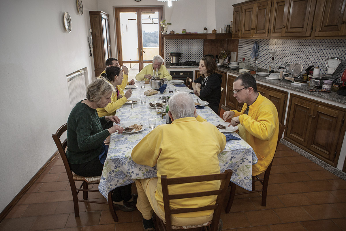 famiglia martelli a pranzo, storie d'azienda