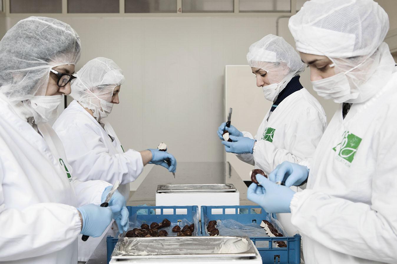 corporate storytelling, la produzione del gelato