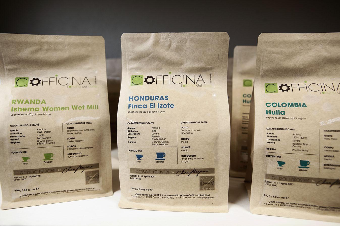 confezioni specialty coffee di cofficina