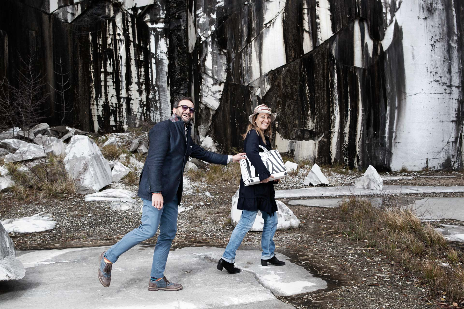 WO Italian Design nelle cave di Carrara, made in story, gianluca flammia